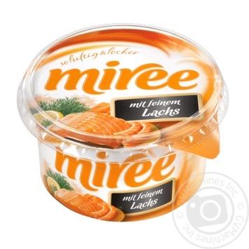 Сир Miree вершковий з лососем 66% 150г - купити, ціни на Novus - фото 1