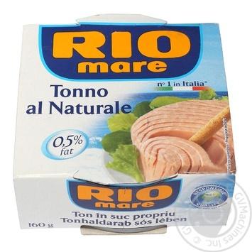 Тунец Rio Mare в собственном соку 160г - купить, цены на Novus - фото 2