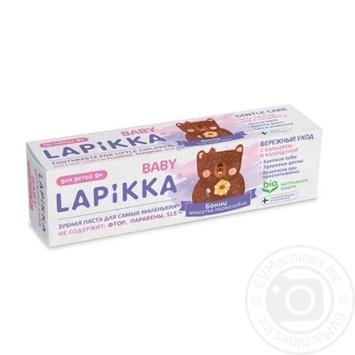 Зубная паста Lapikka Baby Бережный уход 45г - купить, цены на Novus - фото 1