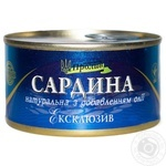 Сайра Пролив Эксклюзив натуральная 240г - купить, цены на Novus - фото 1