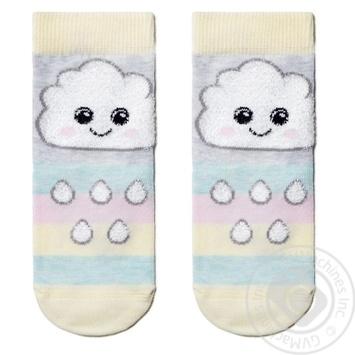 Шкарпетки дитячі Tip-Top Conte Kids 18С-267СП, розмір 14, 424 світло-сірий - купить, цены на Novus - фото 1