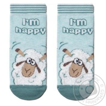 Шкарпетки дитячі Tip-Top Conte Kids 18С-267СП, розмір 18, 423 блідо-бірюзовий - купить, цены на Novus - фото 1