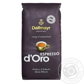 Кофе Dallmayr Espresso d'Oro в зернах 1000г - купить, цены на Novus - фото 1