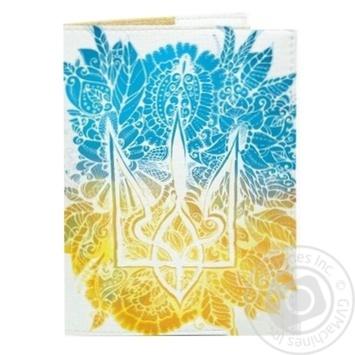 Обкладинка на паспорт Квітковий герб Just Cover!