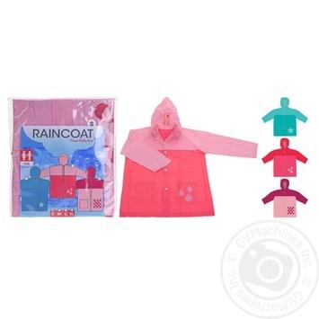 Дощовик для дівчаток.Товщина:0,13мм Koopman - купить, цены на Novus - фото 1