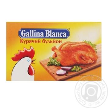 Gallina Blanca Chicken Broth 10g - buy, prices for Novus - image 1
