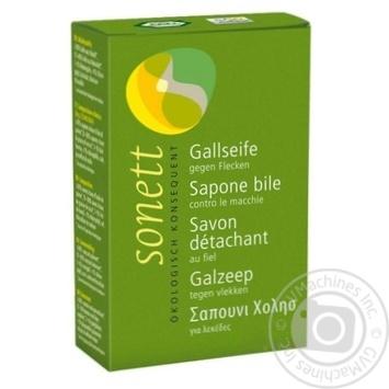 Мило для прання Sonett органічне (жовчне мило) 100г - купити, ціни на Novus - фото 1