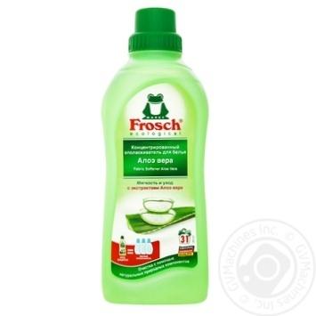 Ополаскиватель для белья Frosch Aloe Vera 750мл - купить, цены на Novus - фото 2