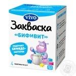 Закваска бактеріальна Vivo Біфіт 4шт 0.5г