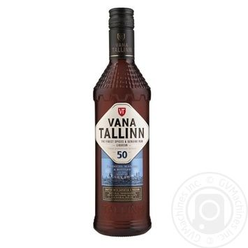 Ликер Vana Tallinn 50% 0,5л - купить, цены на Novus - фото 1
