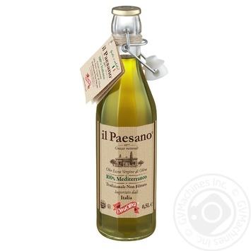 Масло оливковое Diva Oliva il Paesano Extra Vergine нефильтрованное 500мл - купить, цены на Novus - фото 1