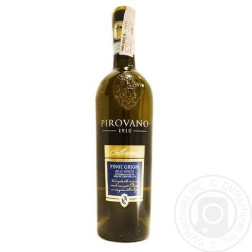 Вино Pirovano Pinot Grigio delle Venezie белое сухое 12% 0,75л