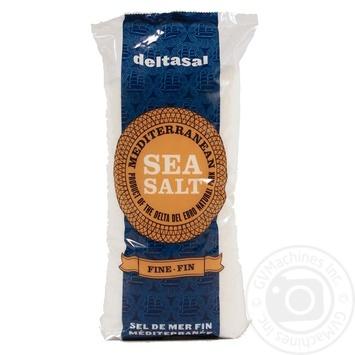 Соль Deltasal Гурме морская мелкого помола 1кг