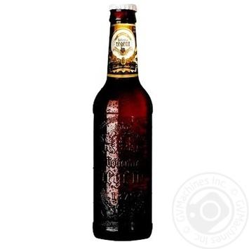 Пиво Bohemia Regent Premium Lager темное 4,7% 0,33л - купить, цены на Novus - фото 1