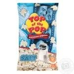 Top of Pop Salt Flavor Popcorn for Microwave Oven 100g