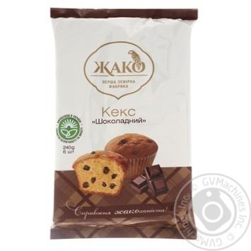 Кекс Жако Шоколадний 240г - купити, ціни на CітіМаркет - фото 2