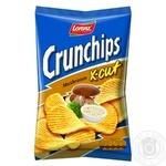 Чипсы картофельные Lorenz Crunchips X-cut Грибы волнистые 75г
