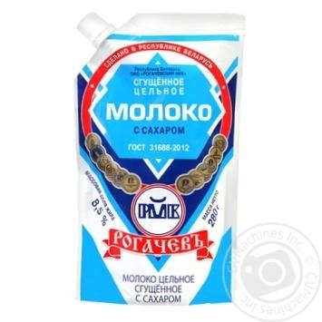 Молоко сгущенное Рогачевъ цельное с сахаром 8.5% 300г - купить, цены на Novus - фото 6
