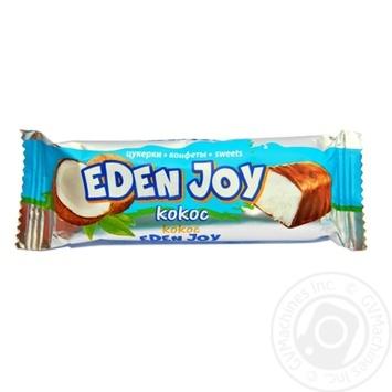 Конфеты Житомирские ласощи Eden Joy кокос 40г