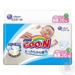 Підгузники GOO.N розмір SS унісекс для немовлят до 5кг 36шт - купити, ціни на Novus - фото 1