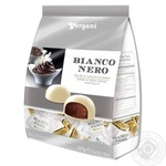 Vergani Bianco&Nero With Chocolate Ganache Filling In White Chocolate Candies 200g