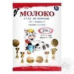 Powdered milk Molochniy svit 25% 250g