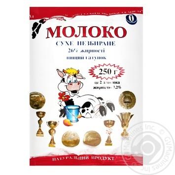 Молоко Молочный свит сухое 25% 250г - купить, цены на МегаМаркет - фото 1