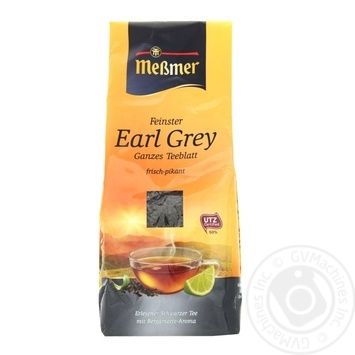 Messmer Earl Grey Black Loose Tea 150g - buy, prices for MegaMarket - image 1