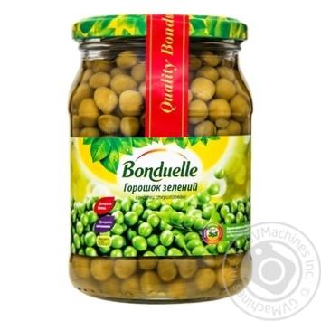 Горошек Bonduelle зеленый консервированный 530г - купить, цены на Novus - фото 1
