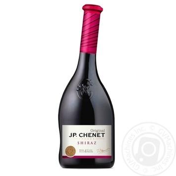 Вино J.P. Chenet Shiraz красное сухое 0.75л - купить, цены на Метро - фото 1