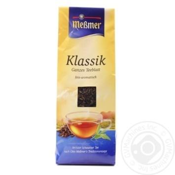 Чай Мессмер Классик черный 150г