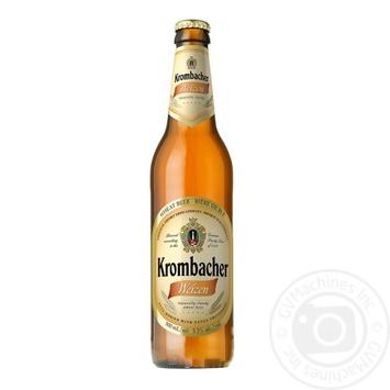 Пиво Krombacher Weizen светлое 5.3% 0.5л - купить, цены на Novus - фото 1