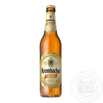 Krombacher Weizen Light Beer 5.3% 0.5l - buy, prices for Novus - image 1