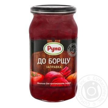 Заправка Руна к красному борщу 470г - купить, цены на Novus - фото 1