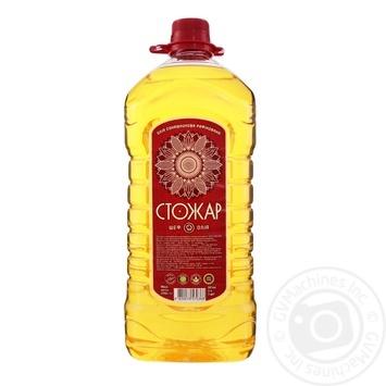 Oil Stozhar sunflower refined 3000ml plastic bottle - buy, prices for Novus - image 2