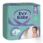 Подгузники детские Evy Baby Maxi Standart 4 7-18кг 24шт