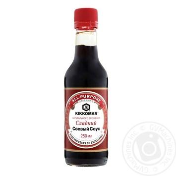 Соус Kikkoman солодкий соєвий 250мл - купити, ціни на Novus - фото 1