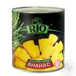 Pineapple slices Rio in syrup 580g Thailand - buy, prices for Novus - image 1