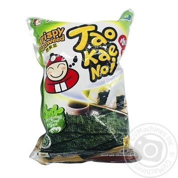 Норі хрусткі оригінальний смак Taokaenoi 15г - купити, ціни на Novus - фото 1
