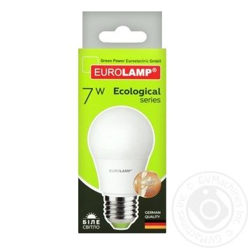 Eurolamp LED Lamp E27 7W 4000K - buy, prices for Furshet - image 5