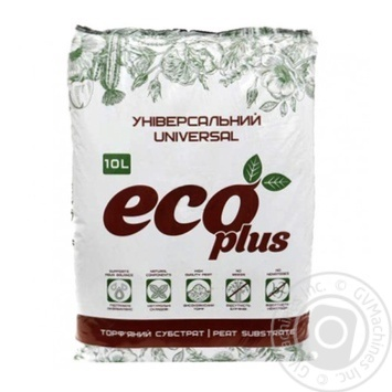 Eco Plus Peat Substrate for Seedlings 10l - buy, prices for Auchan - photo 1