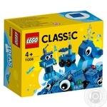 Lego Cubes for creativity blue Constructor