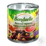 Bonduelle With Corn Red In Sauce Kidney Bean - buy, prices for MegaMarket - image 1