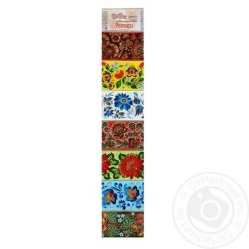 Термоусадочная этикетка Добрик Росписи - купить, цены на Novus - фото 1
