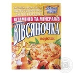 Каша вівсяна Ваша Каша Вівсяночка Казковий Персик з цукром швидкого приготування 35г Україна