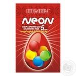 Набор красителей Писанка Неон для пасхальных яиц 5г