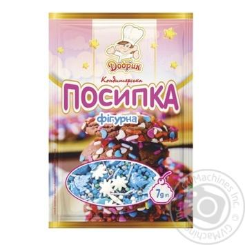 Посыпка Добрик кондитерская фигурная 7г
