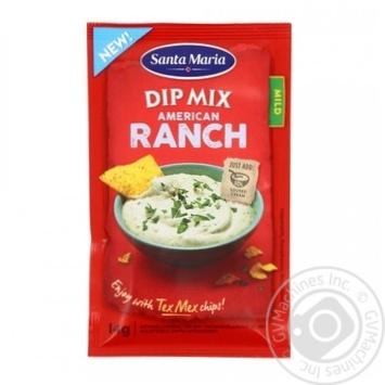 Смесь приправ Santa Maria American Ranch для дип-соуса 14г - купить, цены на Ашан - фото 1