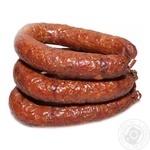 Колбаса из свинины Домашне на дровах горячего копчения