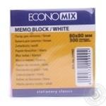 Папір для нотаток EconoMix 80X80мм
